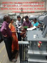 Final inspection distribution transformer image-1
